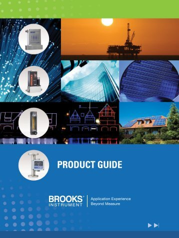 PRODUCT GUIDE - Brooks Instrument