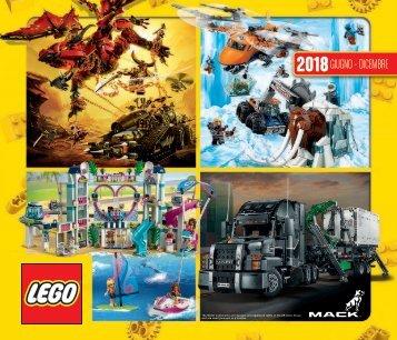 CATALOGO LEGO GIUGNO-DICEMBRE 2018