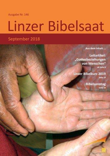 Bibelsaat (Nr. 146 9/2018)