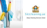 Deep Cleaning Services Dubai | SKT Cleaning