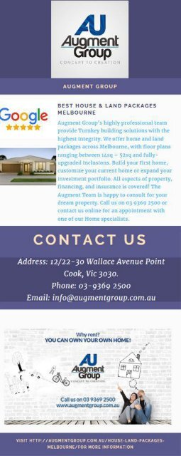 House & Land Packages in Melbourne