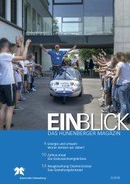 EINBLICK August 2018