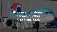 Korean air customer service number  | online booking