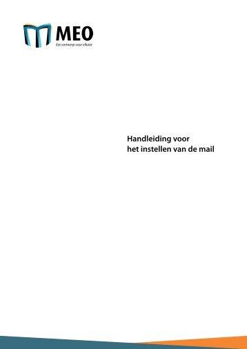 Handleiding instellen van de mail