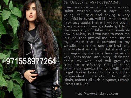 Indian Independent Model Escort In Dubai   +971558370079   Indian Call Girls In Dubai