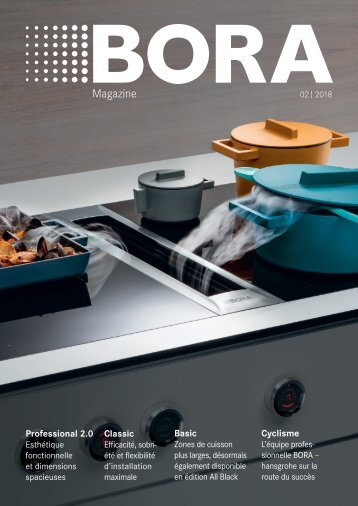 BORA Magazine 02|2018 – French