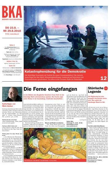 Berner Kulturagenda N° 33