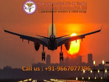 Instant and Fast Air Ambulance Services in Aurangabad by Panchmukhi