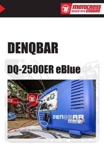 Denqbar - DQ-2500ER eBlue