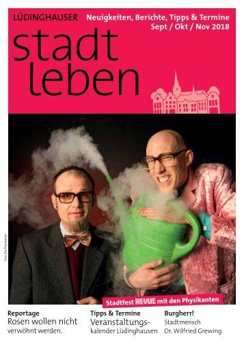 Stadtleben Ausgabe September 2018