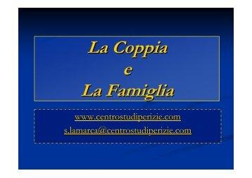 La Coppia e La Famiglia - Centro Studi Perizie