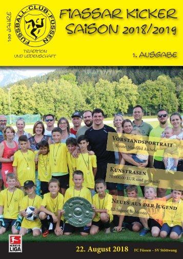 FCF Stadionzeitung 2018_08_22_Stöttwang_WEB