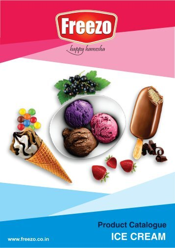 Freezo Ice Cream Catalogue 2018