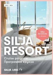 Cruise Program Silja Serenade in English and in Russian 1.–30.9.