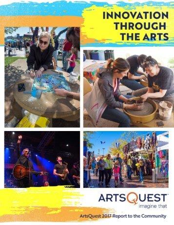 ArtsQuest 2017 Report to the Community