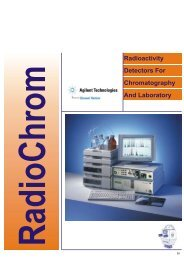 Radioactivity Detectors For Chromatography And ... - Gammasonics