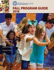 2018 Fall Program Guide