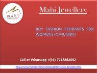 Buy Fashion Pendants for womens in Mumbai