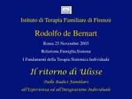 Intelligenza - Istituto di Terapia Familiare di Firenze