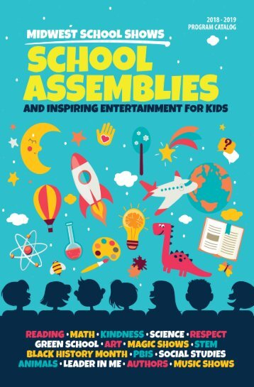 Midwest School Shows - School Assembly Catalog 2018-2019