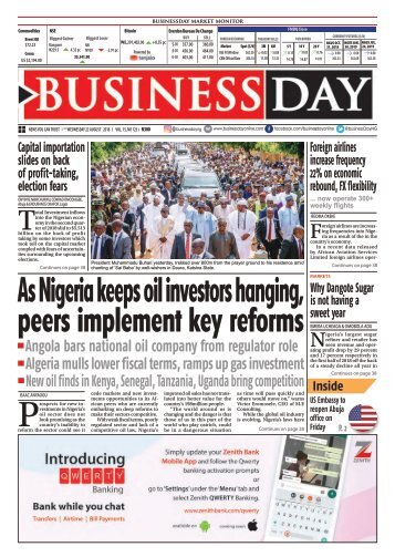 BusinessDay 22 Aug 2018