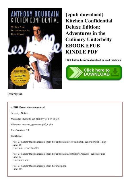 Download culinary ebook