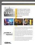 COMPACT EXCAVATORS - Gehl Company - Page 2