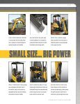 COMPACT EXCAVATORS - Gehl Company - Page 5
