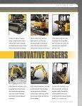COMPACT EXCAVATORS - Gehl Company - Page 7