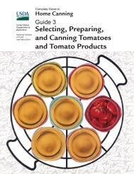 Selecting, Preparing, and Canning Tomatoes and Tomato Products