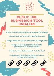 Public URL Submission Tool Updates
