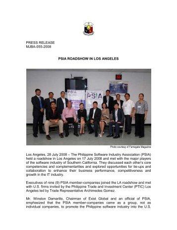 5 free Magazines from PHILIPPINECONSULATELA ORG