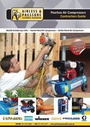 Peerless Air Compressors Contractors Guide - Airless Pressure ...