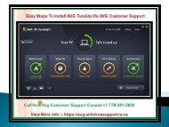 Easy Steps To Install AVG TuneUp Via AVG Customer Support