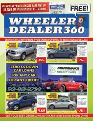 Wheeler Dealer 360 Issue 34, 2018