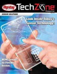 Sensor Solutions TechZone Magazine, May 2011 - Digi-Key