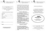 Programma - Scuola Romana di Psicoterapia Familiare