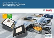 Semiconductors and sensors Product overview ... - Future Electronics