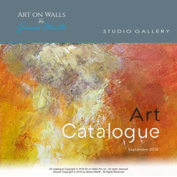Art Catalogue 2018
