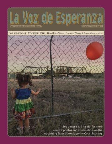 La Voz - September 2018
