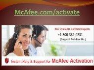 McAfee Activate|8003840231| McAfee antivirus