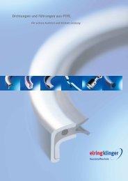 PTFE-Dichtungen, Kolben- und Stangendichtungen, Kolben- und Führungsringe