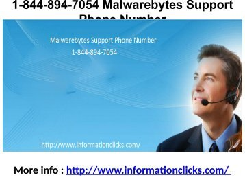1-844-894-7054 Malwarebytes Support Phone Number