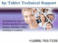 HP Tablet Support Number +1-888-763-7228, HP Tablet Repair, Help.output