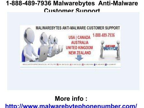 1-888-489-7936 Malwarebytes  Anti-Malware Customer Support