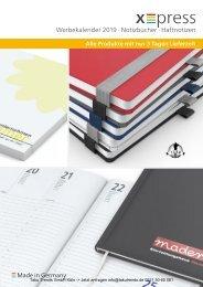 Werbekalender Kalender  Werbemittel Katalog