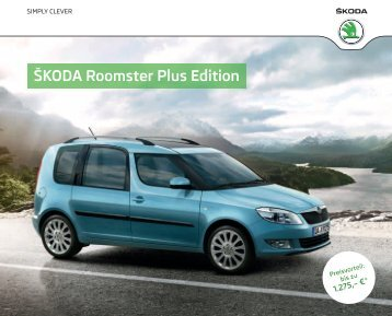 ŠKODA Roomster Plus Edition - Skoda