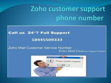 ZOHO Email support in USA