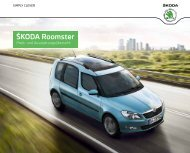 ŠkodA Roomster - Autohaus Ohse