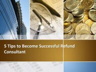 Create Australia Reviews – 5 Tips to Become Successful Refund Consultant